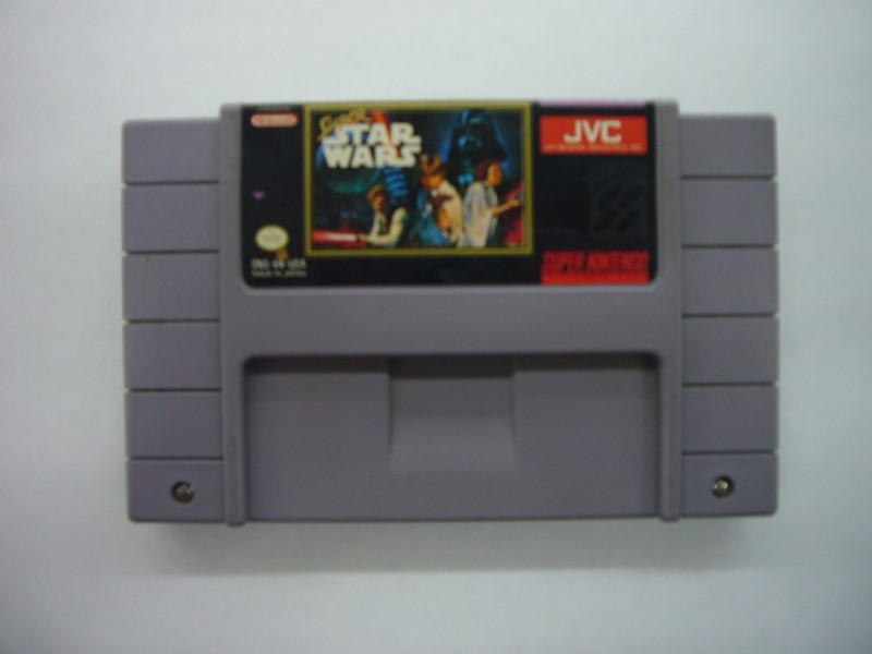NINTENDO SNES Game SUPER STAR WARS *CARTRIDGE ONLY*