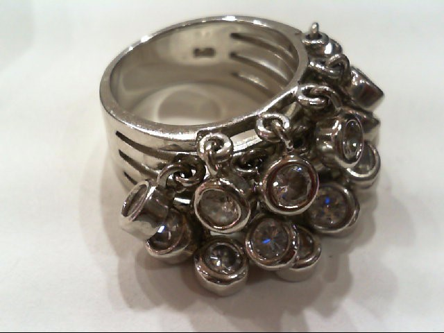 Lady's Silver Ring 925 Silver 13.1g