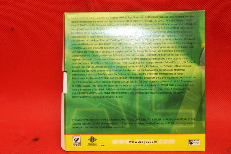 Generator Demo Disc Vol. 2 (Sega Dreamcast)
