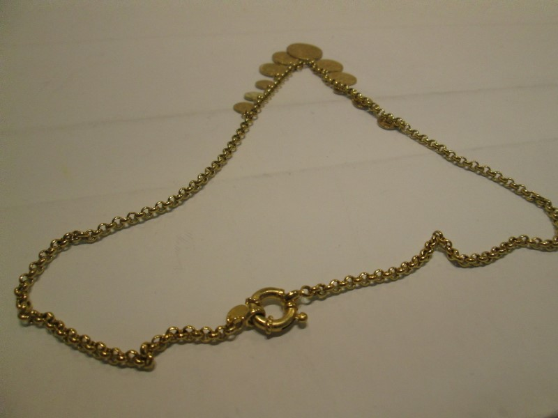 Gold Fashion Chain 14K Yellow Gold 9.6dwt
