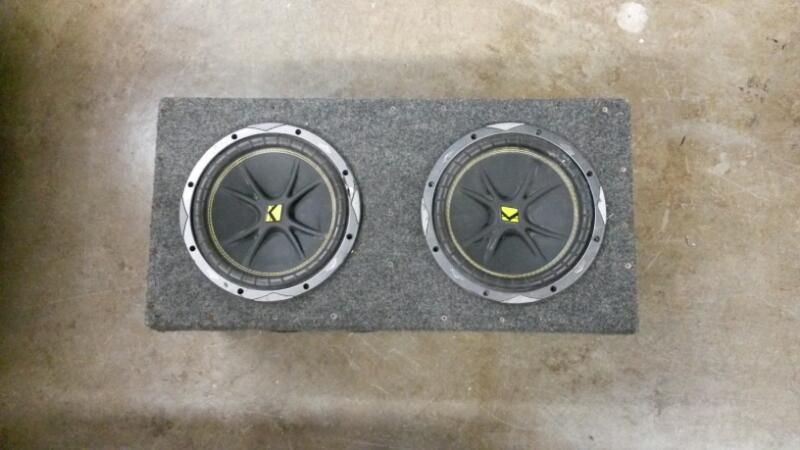 Kicker Comp 10 set of 2 in box
