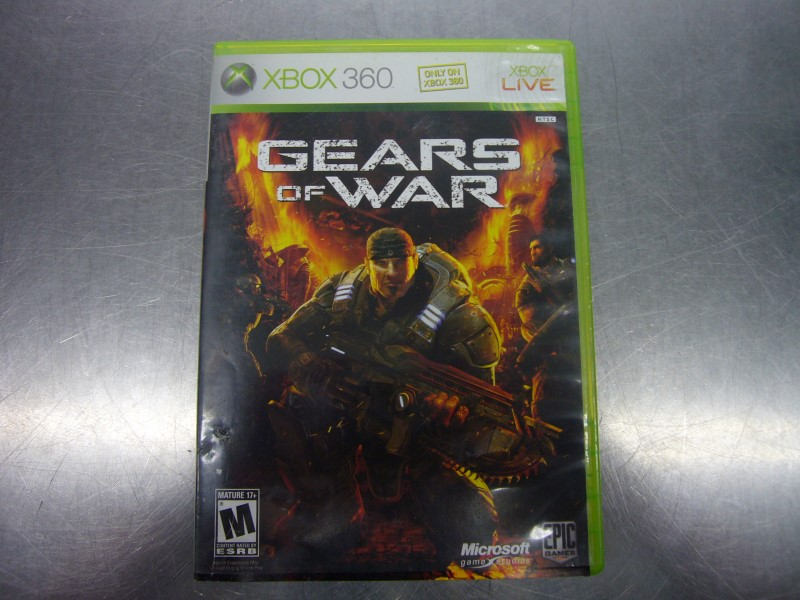 MICROSOFT XBOX 360 Game GEARS OF WAR