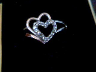 Lady's Silver Ring 925 Silver 2.9g
