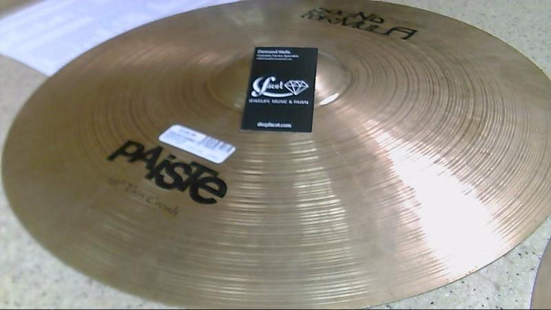 "PAISTE Cymbal 18"" CRASH"