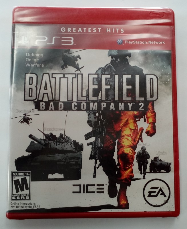 SONY PLAYSTATION 3 GAME PS3 BATTLEFIELD BAD COMPANY 2