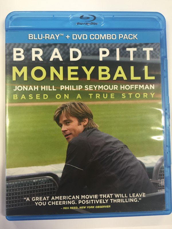 MONEYBALL (BLU-RAY MOVIE ONLY, 2012)