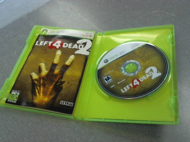 MICROSOFT Microsoft XBOX 360 Game XBOX 360 LEFT 4 DEAD 2