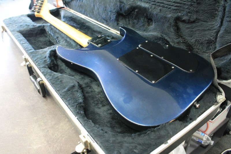 JACKSON STEALTH EX GUITAR LEFT HANDED WITH CASE.