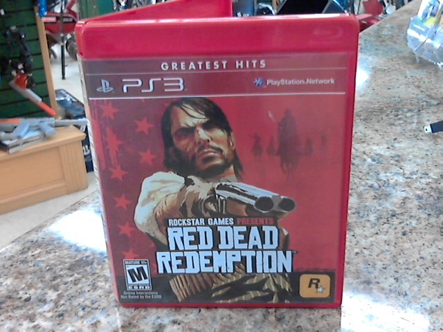 SONY Sony PlayStation 3 Game RED DEAD REDEMPTION