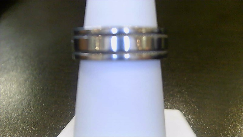 Lady's Platinum Wedding Band 950 Platinum 6.3g Size:5.3