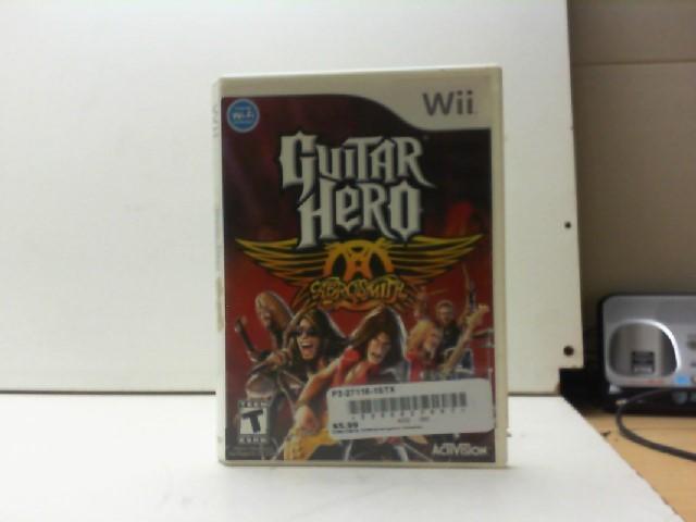 NINTENDO Nintendo Wii Game GUITAR HERO AEROSMITH