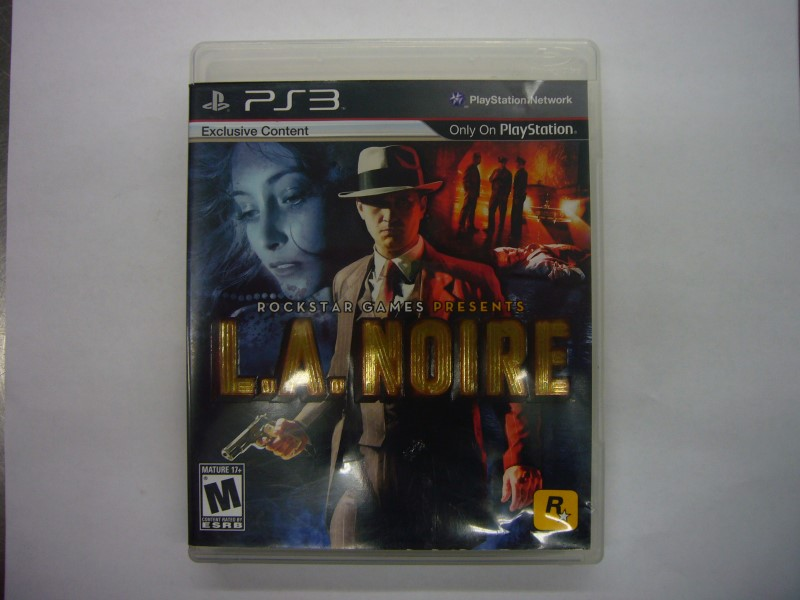 SONY Sony PlayStation 3 Game L.A. NOIRE