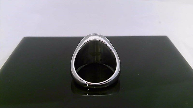 STAINLESS CROSS RING