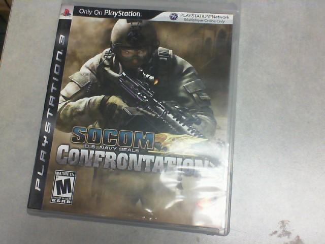 SONY Sony PlayStation 3 Game SOCOM US NAVY SEALS CONFRONTATION