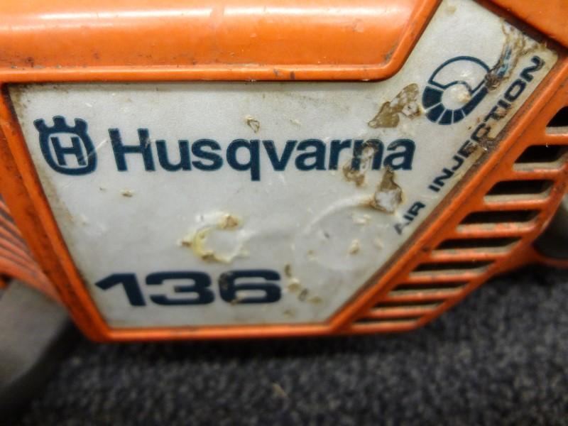 "HUSQVARNA 136 36CC 16"" BAR CHAINSAW **1999**"