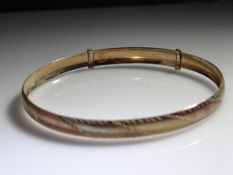 Gold Fashion Bracelet 10K Yellow Gold 6.84g