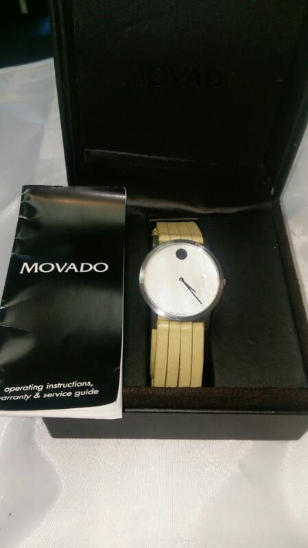 MOVADO GENT'S WRIST WATCH MODEL 84 G1 1852
