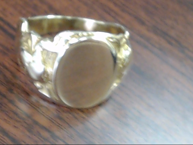 Lady's Gold Ring 10K Yellow Gold 10.1g Size:8