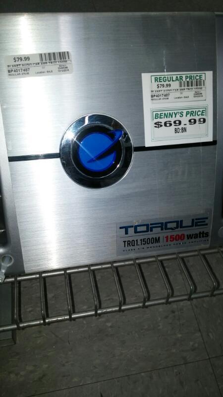 PLANET AUDIO Car Amplifier TRQ1.1500M