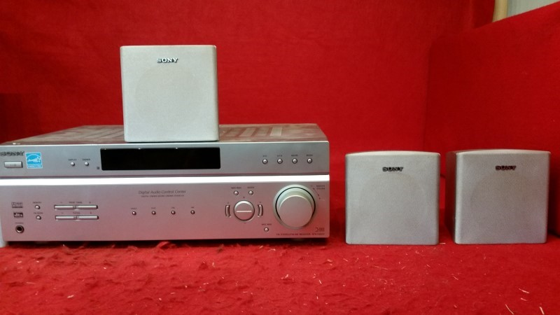Sony STR-K660P AM/FM Home Surround Sound Theatre System No Remote