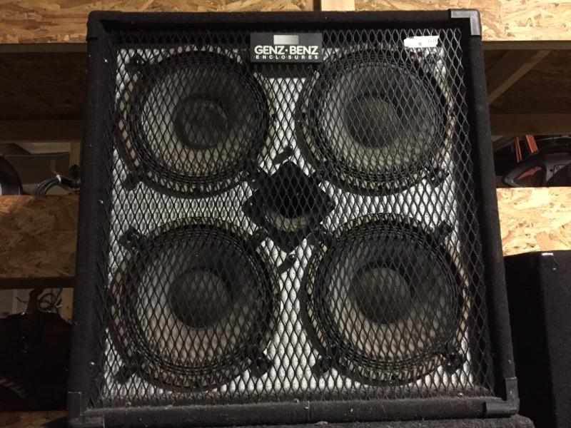 4X10 BASS SPEAKER S/12406 GENZ BENZ M/GB