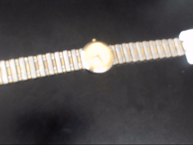 RAYMOND GENEVE GOLD/SILVER WATCH PLATED   WATCH