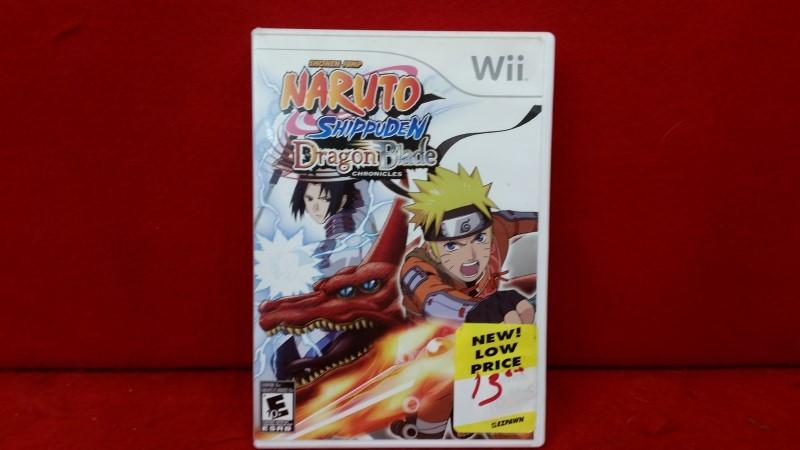 Naruto Shippuden: Dragon Blade Chronicles (Nintendo Wii, 2010)