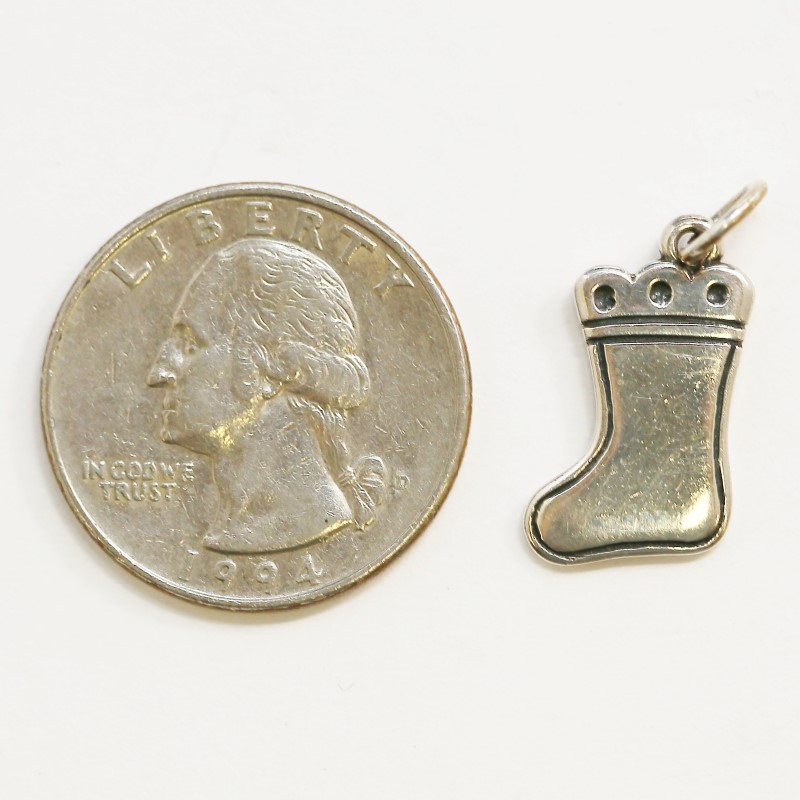 James Avery Sterling SIlver Christmas Stocking Charm