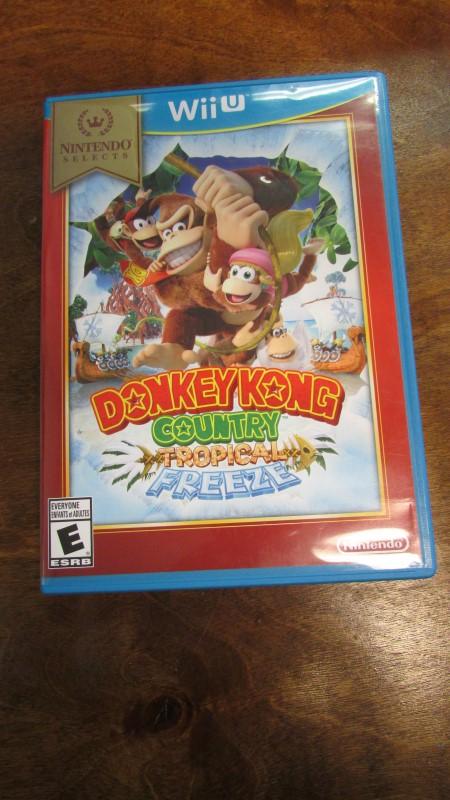 NINTENDO Nintendo Wii U Game DONKEY KONG COUNTRY TROPICAL FREEZE