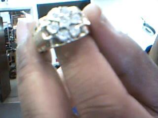 Gent's Diamond Fashion Ring 7 Diamonds .28 Carat T.W. 10K Yellow Gold 8.75g