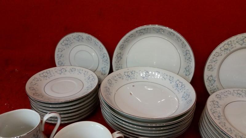 Montgomery Ward Style House Fine China DAMASK - Dish Set