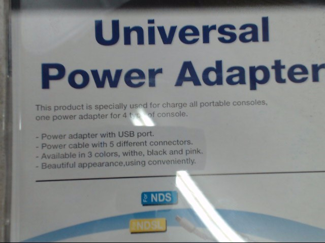 BRAND NEW 5-in-1 Universal Power Adapter - DS GBA SP DSLite DSi 3DS 2DS PSP