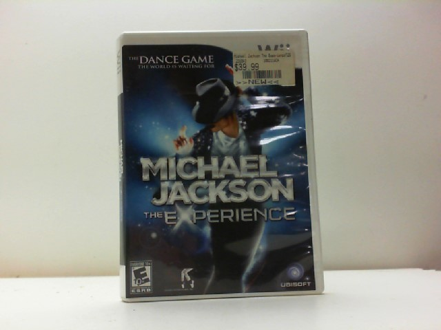 NINTENDO Nintendo Wii Game MICHAEL JACKSON THE EXPERIENCE WII