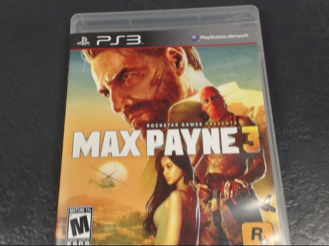 SONY Sony PlayStation 3 Game MAX PAYNE 3 PS3