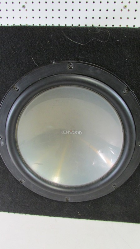 KENWOOD CAR SUBWOOFER
