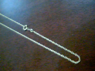 Gold Rope Chain 14K Yellow Gold 1.2g