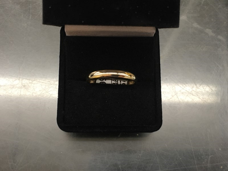 Gent's Gold Wedding Band 14K Yellow Gold 1.95dwt