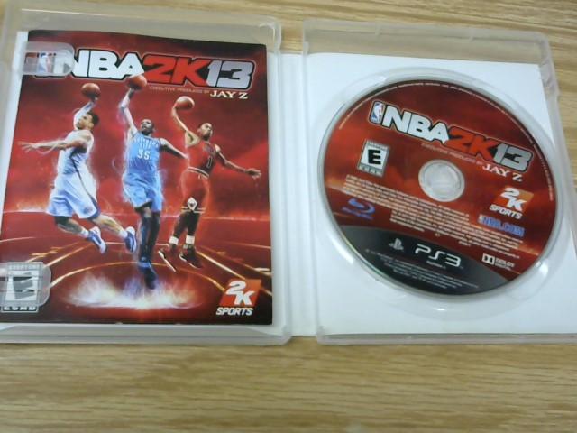 POLAROID Sony PlayStation 3 Game NBA2K13 PS3