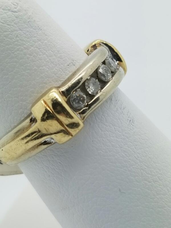 DIAMOND  WEDDING BAND M'S 14KT DIAMOND  3.2DWT/YG