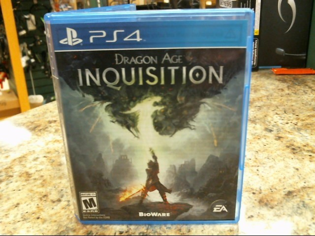 SONY Sony PlayStation 4 Game DRAGON AGE INQUISITION - PS4