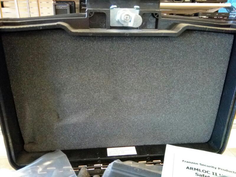 FRANZEN SECURITY Gun Case ARMLOC II HANDGUN CASE