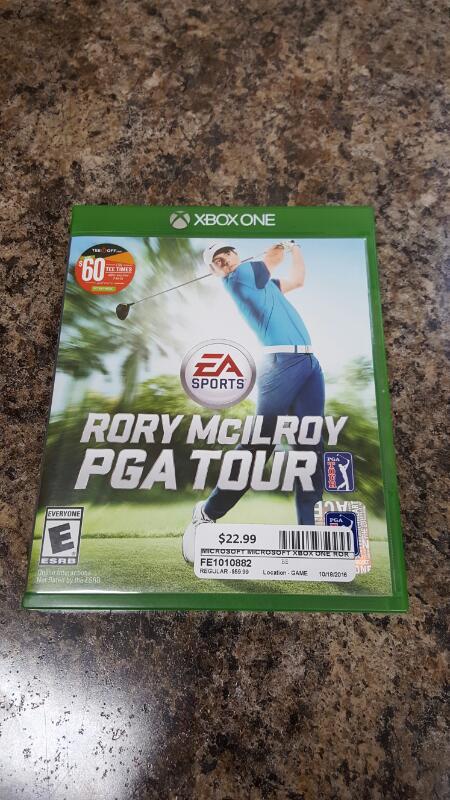 EA Sports Rory McIlroy PGA Tour (Microsoft Xbox One, 2015)