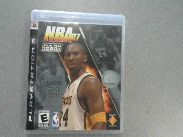 SONY Sony PlayStation 3 Game NBA 07