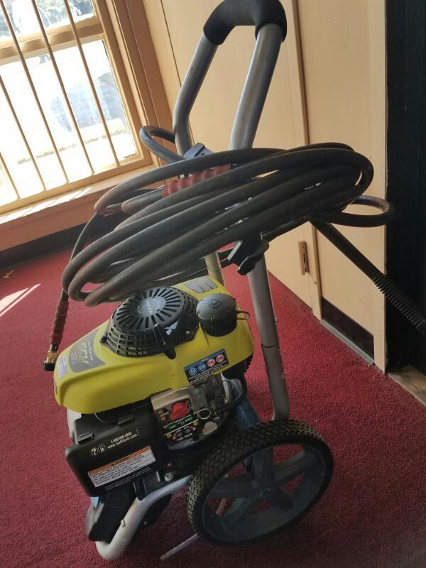 RYOBI Pressure Washer RY802800