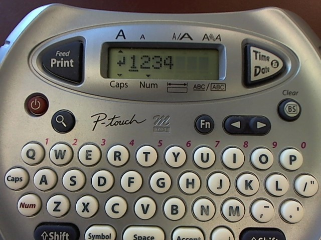 BROTHER Label Maker PT-70 LABEL MAKER
