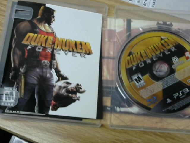 SONY Sony PlayStation 3 Game DUKE NUKEM FOREVER