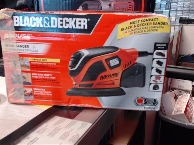 BLACK&DECKER Vibration Sander MS800B