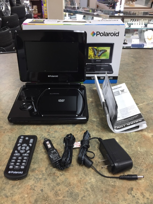 POLAROID Portable DVD Player PDVD-318