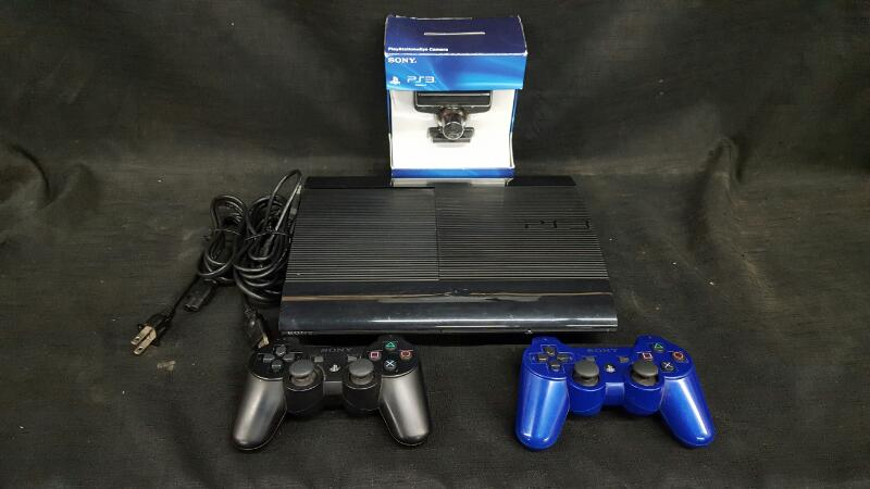 Preowned Sony Playstation 3 PS3 Model CECH-4001B 250GB