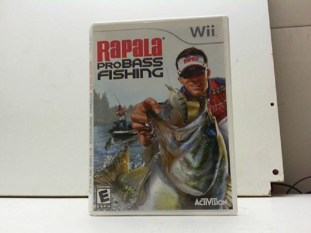 NINTENDO Nintendo Wii Game RAPALA PRO BASS FISHING
